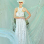 Photography Leonardo V, White Pailettes Dress by Flavia Cavalcanti Couture, Hat by Leonardo V Archive