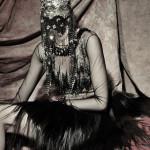 Photography Leonardo V, Amen Couture, Mask Hand Made by Leonardo V