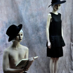 Photography Leonardo V, from  left  Hat  By  Stylist's Archive,  black shorts by DSquared2 ,  Black Dress by  Roberto Musso,  Shoes By Pura Lopez