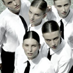 Photography Leonardo V, Total Look Ferre'Vintage, Black Ties by Tom Ford, Pants by DKNY