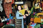 Mrs Charazad Rizki  and Antonia Sautter
