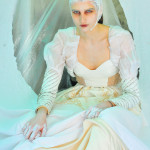 Photography Leonardo V, White Jacket by Antonio Grimaldi Couture, Dress by Basil Soda
