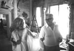 Amati and De Sica; Photography by Douglas Kirkland
