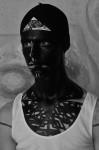 Photography Leonardo V, T shirt by David Beckham, makeup by Leonardo V