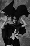 Photography Leonardo V, Silk dress by  Jean-Charles De Castelbajac Cruise