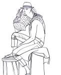 """Jonathan""; Illustration Carlos Aponte"