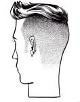 """Ryan´s Haircut""; Illustration Carlos Aponte"