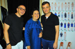 Tommaso Aquilano, Suzy Menkes & Roberto Rimondi