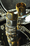 Golden Bracelet by Gianmaria Buccellati; Photography Leonardo V