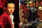 Velvet red jacket by Gianluca Saitto; Photography Leonardo V