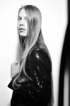 Black Paillettes jacket by Gianluca Saitto, Photography Leonardo V
