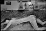 Sandro Prayer, artista,1995; Photographer Riccardo Pieroni