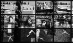 MENT IRE . Viaggio nell'archivio urbano,1996, cm 78x780 (72 fotografie cm 24x30,5) part ; Photographer Riccardo Pieroni