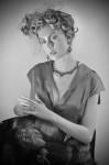 Dress  & Fur by Moscova e libri, Jewelry by Buccellati; Photography Leonardo Vecchiarelli
