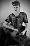 Dress  & Fur by  Moscova libri e robe, Jewelry by Buccellati; Photography Leonardo Vecchiarelli