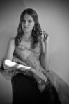 Dress by Ann Wiberg, Fur by MOscova libri e robe, Jewelry by Buccellati; Photography Leonardo Vecchiarelli