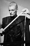 Black Jacket by Valentino, dress shirt by Steinberg & Tolkien; Photography Leonardo Vecchiarelli