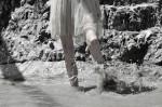 Couture dress by Ann Wiberg; Shoes design by Cori Amenta; Photographer Leonardo Vecchiarelli