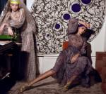Total look Luisa Beccaria, shoes by Daniela Gonzalez Luxuryshoesdesign; Photography Leonardo V