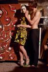 For her Valentino - Vintage 65 & shoes by Daniela Gonzalez Luxuryshoesdesign for him pant by Valentino; Photography Leonardo V
