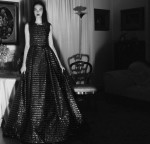 Couture Gown dress by Luisa Beccaria; Photography Leonardo V