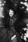Couture dress by Parosh, fur-cape and accessories by fenix archive; Photography Leonardo V