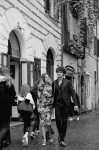 rom left dragon dress by Parosh shoes by Giuseppe Zanotti Design, for him Musani Couture man, shoes Giuseppe Zanottti Design; Hair & Make Up Sofia Pollifrone; Photography Leonardo V