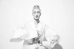 Top Model Anastassia Khozissova; Blouse Jonas Chistov; Photography Leonardo V