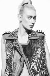 Top Model Anastassia Khozissova; Jacket Diliborio; Photography Leonardo V