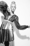Top Model Anastassia Khozissova; Skirt Max Rieny  Silk Blouse J Monteiro;  Photography Leonardo V